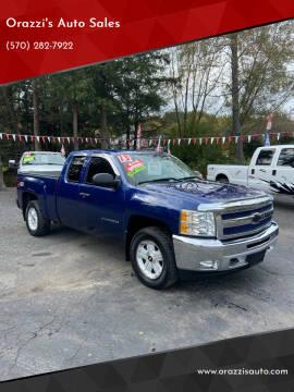 2013 Chevrolet Silverado 1500 for sale at Orazzi's Auto Sales in Greenfield Township PA