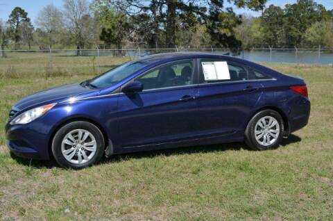 2011 Hyundai Sonata for sale at WOODLAKE MOTORS in Conroe TX
