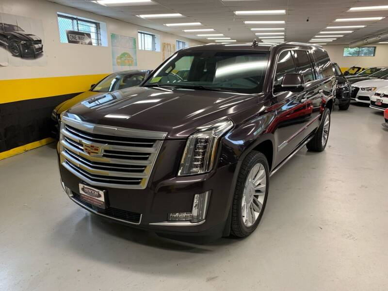 2015 Cadillac Escalade ESV for sale at Newton Automotive and Sales in Newton MA