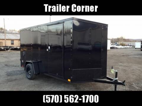Look Trailers STLC 6X12 BLACKED OUT-RAMP