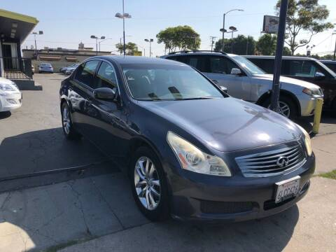 2007 Infiniti G35 for sale at Crown Auto Inc in South Gate CA