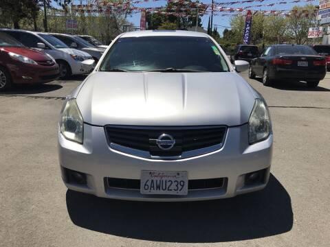 2008 Nissan Maxima for sale at EXPRESS CREDIT MOTORS in San Jose CA