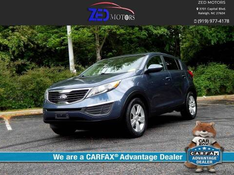 2013 Kia Sportage for sale at Zed Motors in Raleigh NC