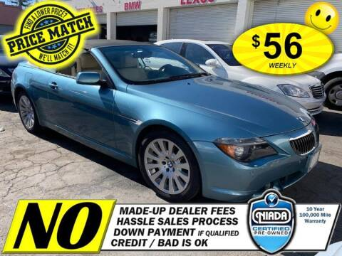 2004 BMW 6 Series for sale at AUTOFYND in Elmont NY