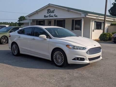 2013 Ford Fusion for sale at Best Used Cars Inc in Mount Olive NC
