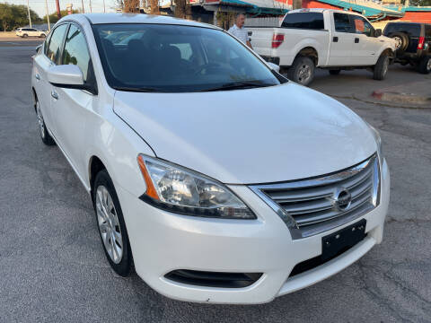 2013 Nissan Sentra for sale at PRESTIGE AUTOPLEX LLC in Austin TX