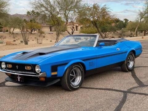 1972 Ford Mustang for sale at Classic Car Deals in Cadillac MI