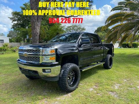 2015 Chevrolet Silverado 1500 for sale at Transcontinental Car USA Corp in Fort Lauderdale FL