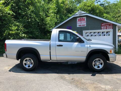 2004 Dodge Ram Pickup 1500 for sale at KMK Motors in Latham NY