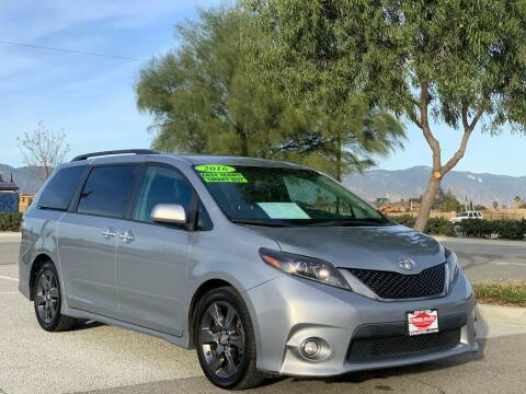 2016 Toyota Sienna for sale at Esquivel Auto Depot in Rialto CA
