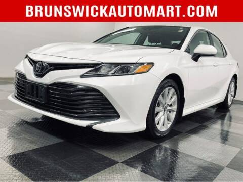 2019 Toyota Camry for sale at Brunswick Auto Mart in Brunswick OH
