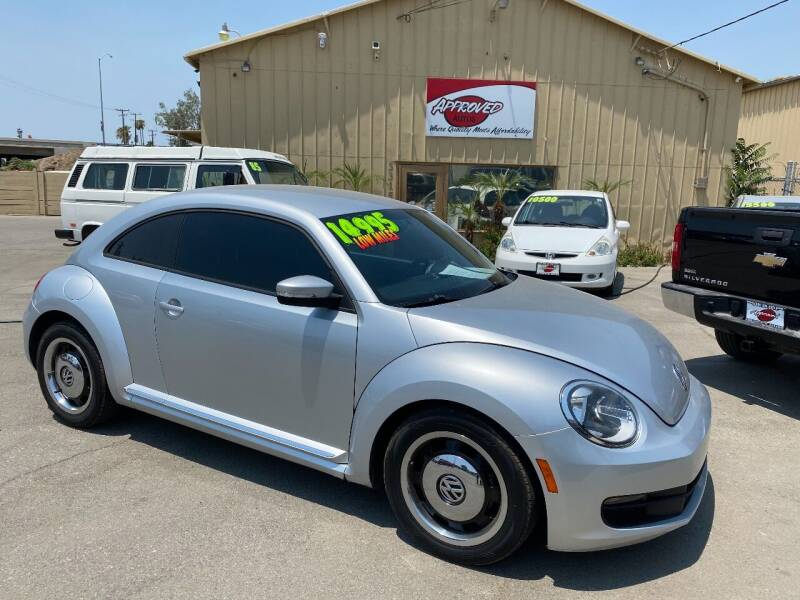 2012 Volkswagen Beetle for sale at Approved Autos in Bakersfield CA