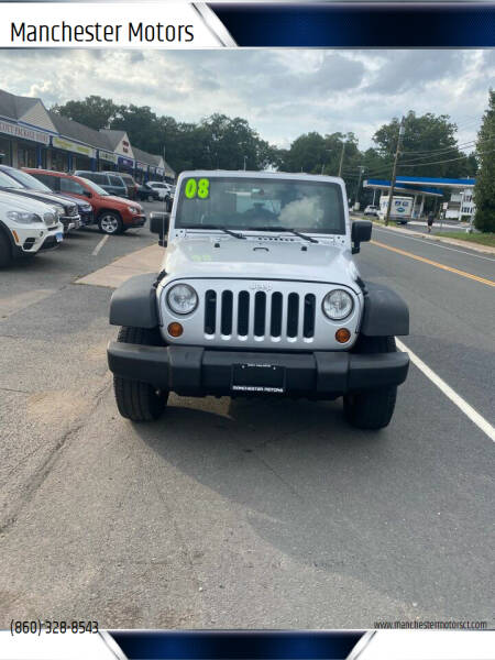 2008 Jeep Wrangler Unlimited for sale at Manchester Motors in Manchester CT