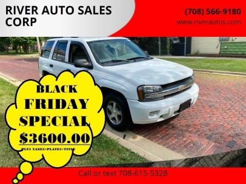 2006 Chevrolet TrailBlazer for sale at RIVER AUTO SALES CORP in Maywood IL