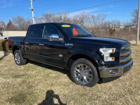 2017 Ford F-150 for sale at Foust Fleet Leasing in Topeka KS
