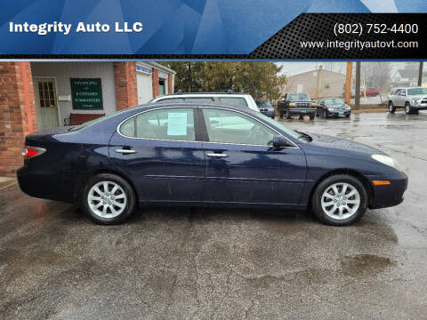 2004 Lexus ES 330 for sale at Integrity Auto LLC - Integrity Auto 2.0 in St. Albans VT