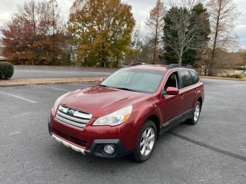 2014 Subaru Outback for sale at SMZ Auto Import in Roswell GA