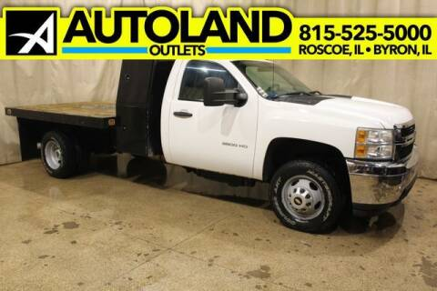 2011 Chevrolet Silverado 3500HD Diesel 4x4 for sale at AutoLand Outlets Inc in Roscoe IL