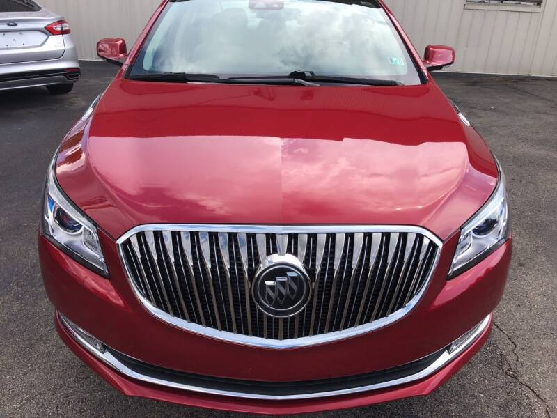 2014 Buick LaCrosse for sale at Berwyn S Detweiler Sales & Service in Uniontown PA