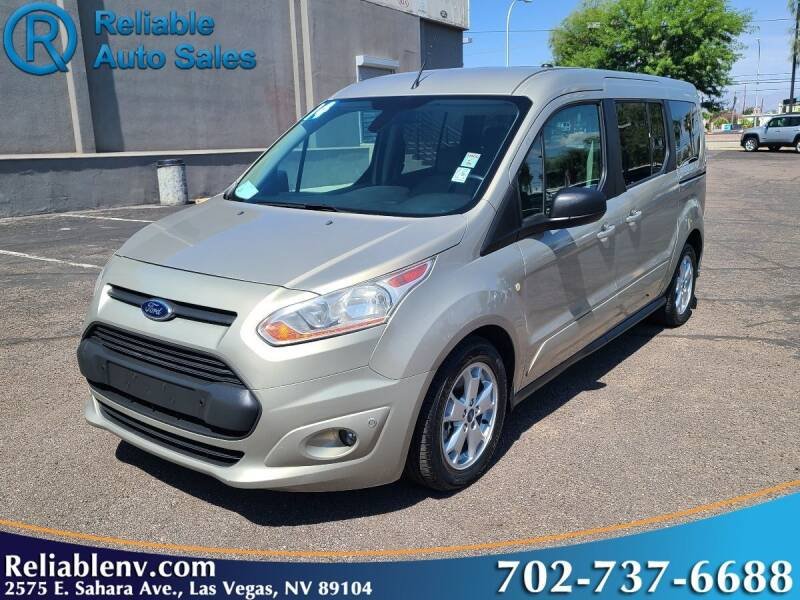 2014 Ford Transit Connect Wagon for sale at Reliable Auto Sales in Las Vegas NV