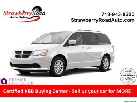 2014 Dodge Grand Caravan for sale at Strawberry Road Auto Sales in Pasadena TX