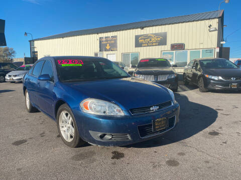 2006 Chevrolet Impala for sale at BELOW BOOK AUTO SALES in Idaho Falls ID