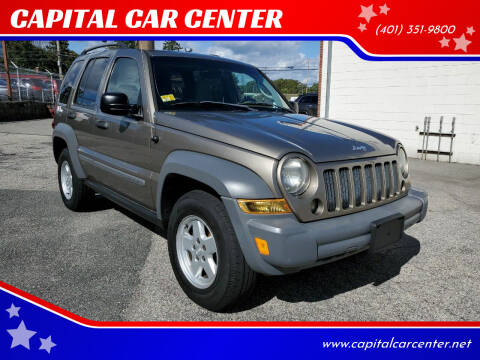 2005 Jeep Liberty for sale at CAPITAL CAR CENTER in Providence RI