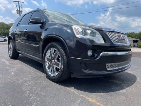 2011 GMC Acadia for sale at Thornhill Motor Company in Lake Worth TX