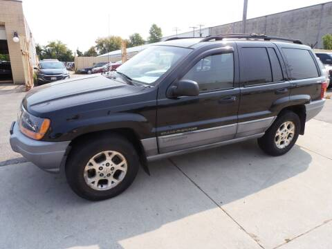 2000 Jeep Grand Cherokee for sale at A-Auto Luxury Motorsports in Milwaukee WI