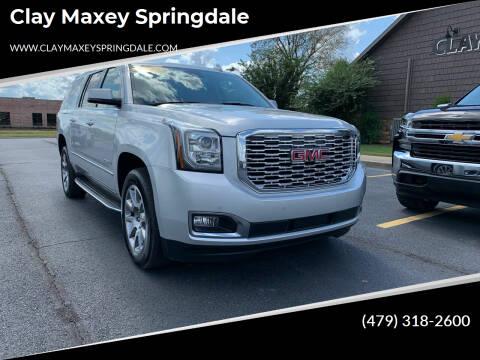 2020 GMC Yukon XL for sale at Clay Maxey Springdale in Springdale AR