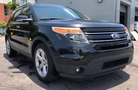 2013 Ford Explorer for sale at Meru Motors in Hollywood FL