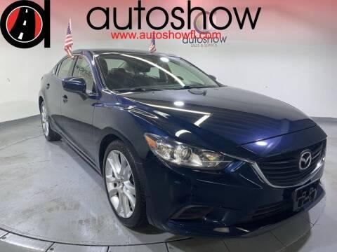 2017 Mazda MAZDA6 for sale at AUTOSHOW SALES & SERVICE in Plantation FL