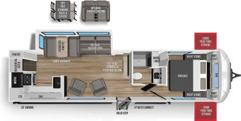 2021 Forest River Wildwood for sale at Frontier Auto & RV Sales in Anchorage AK