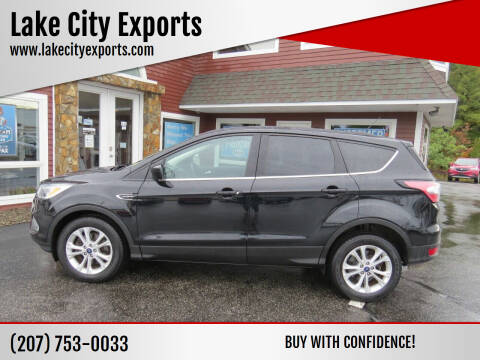 2017 Ford Escape for sale at Lake City Exports in Auburn ME