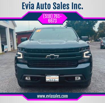 2021 Chevrolet Silverado 1500 for sale at Evia Auto Sales Inc. in Glens Falls NY