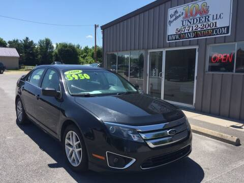 2010 Ford Fusion for sale at KEITH JORDAN'S 10 & UNDER in Lima OH
