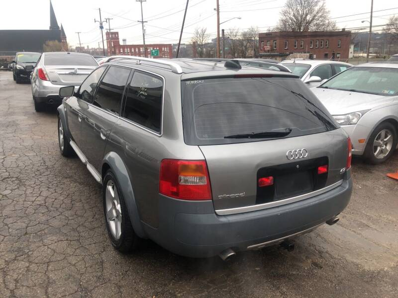 2004 Audi Allroad AWD 4.2 quattro 4dr Wagon - Youngstown OH