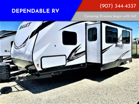 2021 Keystone Bullet for sale at Dependable RV in Anchorage AK