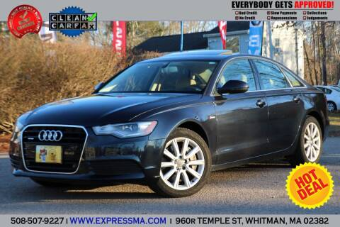 2013 Audi A6 for sale at Auto Sales Express in Whitman MA