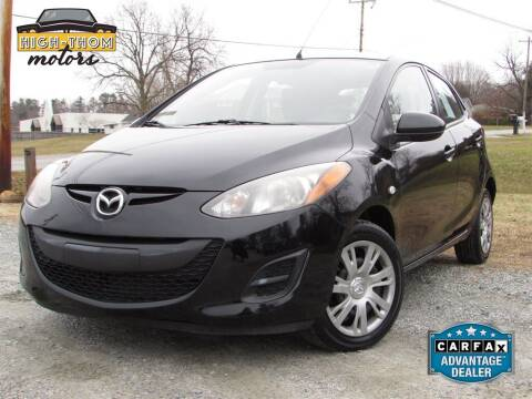 2014 Mazda MAZDA2 for sale at High-Thom Motors in Thomasville NC