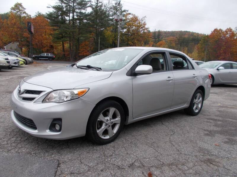2011 Toyota Corolla for sale at Manchester Motorsports in Goffstown NH