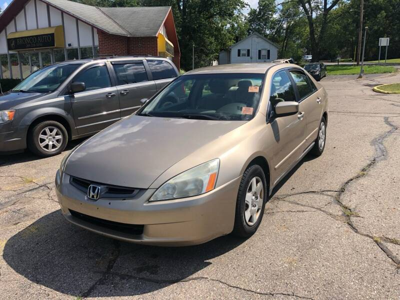 2005 Honda Accord for sale at Bronco Auto in Kalamazoo MI