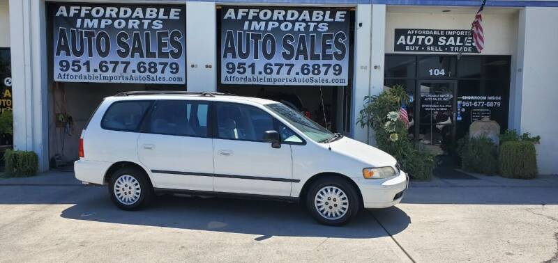 1997 Honda Odyssey for sale at Affordable Imports Auto Sales in Murrieta CA