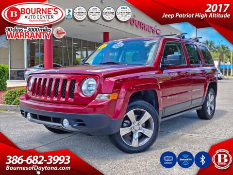 2017 Jeep Patriot for sale at Bourne's Auto Center in Daytona Beach FL