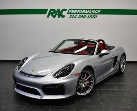 2016 Porsche Boxster for sale at RAC Performance in Carrollton TX
