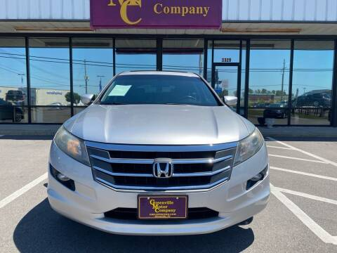 2012 Honda Crosstour for sale at Greenville Motor Company in Greenville NC