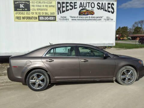 2011 Chevrolet Malibu for sale at Reese Auto Sales in Pocahontas IA