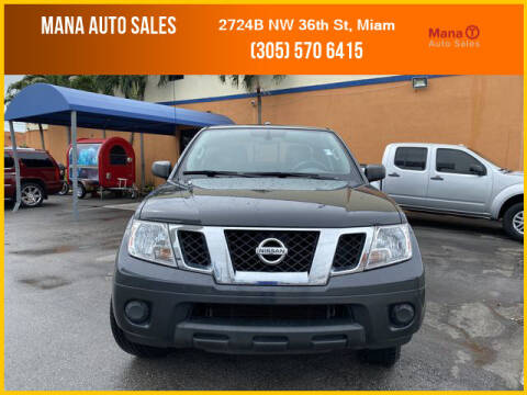 2015 Nissan Frontier for sale at MANA AUTO SALES in Miami FL