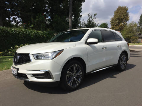 2019 Acura MDX for sale at Valley Coach Co Sales & Lsng in Van Nuys CA