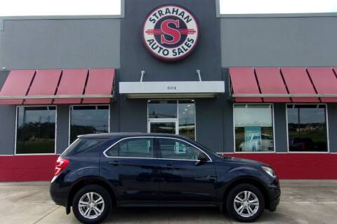 2016 Chevrolet Equinox for sale at Strahan Auto Sales Petal in Petal MS